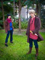 Merlin and His Royal Highness by christie-cosplay