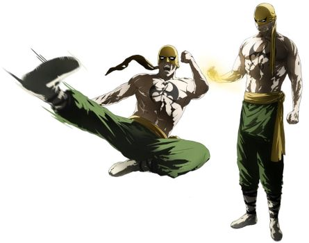 Iron fist by CHUBETO