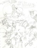Wander Over Yonder - sketch by MagentaCooly