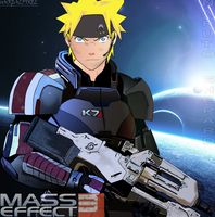 -Cross- Naruto in Mass Effect3 by UnreaLPiXel