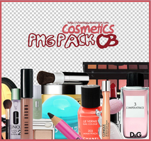 PNG PACK 03 - COSMETICS by ChantiiGG