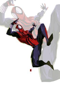 SPIDER MAN by the-hary
