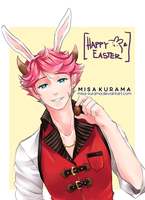 [FC] Open your mouth~ Happy Easter! by Misa-Kurama