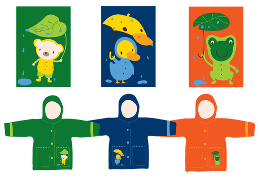 Animal Raincoats by CannibalisticCacti