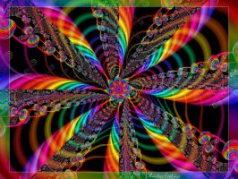 Rainbow Explosion by Tizette-Creations