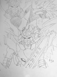 Digimon Sketch Challenge: Day #30 by Omnimon1996