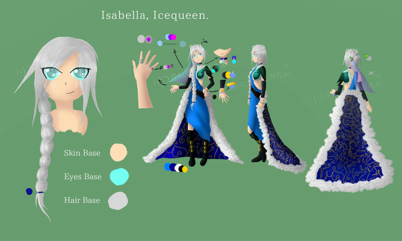 Isabella Ref by ShadowZamai