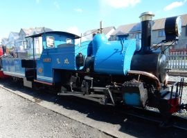Fairbourne Darjeeling Himalayan 0-4-0 Sherpa by rlkitterman