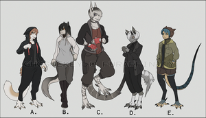 Adama Adopts by GhosteKey