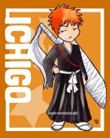 Chibi Series: Ichigo by jurijuri