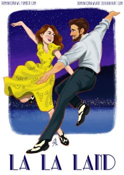 La La Land by DominicDrawsArt