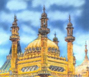 Brighton - the Royal Pavilion by fmr0