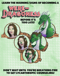 Weredragoness Warning Signs (clean version) by nothere3
