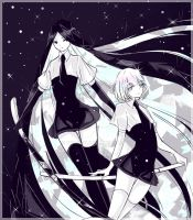 Houseki no Kuni - Bort n Dia by XiYuFox