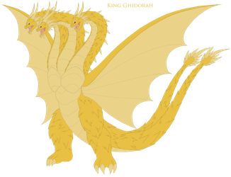 Grand King Ghidorah by Pyrus-Leonidas