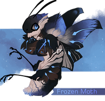 Frozen Moth by NebNomMothership