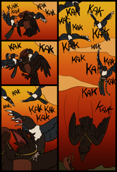 Striped Feathers Page 20 by TheGoldenChicken