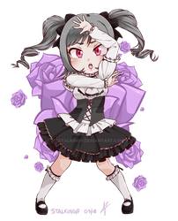 Chibi Ranko by StalkingP