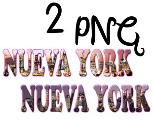 Pngs Nueva York. by pompasdecolores