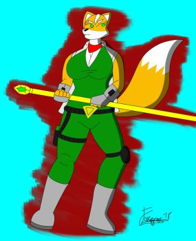 R63 Fox Mccloud 2 by Foxtrot-Nation