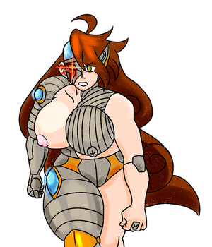 -AT- Cyborg Nicole by ProjectHazoid