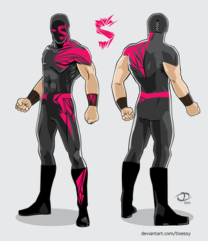 Shard Re-Create-a-Wrestler submission by Tloessy