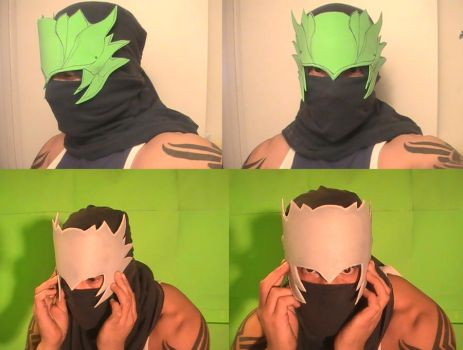 Ryu Hayabusa cosplay WIP by Vegetanthony