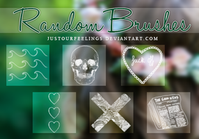 Random Brushes by JustOurFeelings