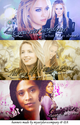 Graphic Banners 1 by MyseryLuvsCompany