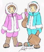 LK's Ice Climbers Colored by RocMegamanX