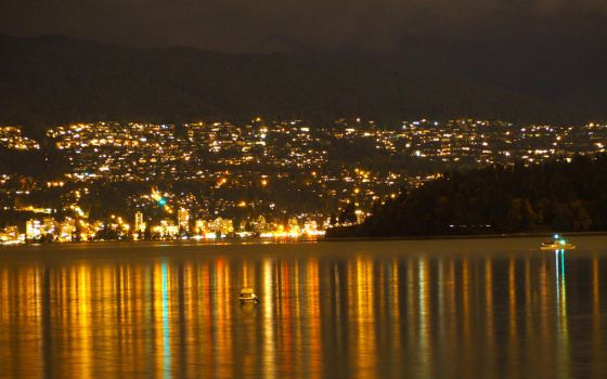 West Vancouver Shimmer by WestSideofMidnight