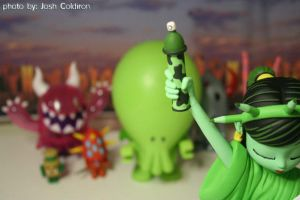 Monsters take on NYC by OffensiveTheory
