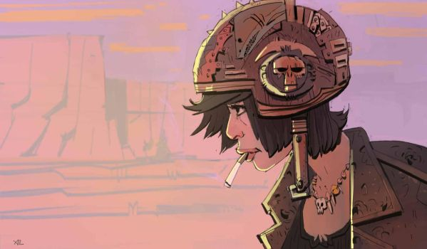 Tankgirl by johnlaine