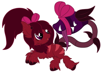 OC: Mini Sip and Sugar Rush the Pygmy Plant Pony by SilverRomance