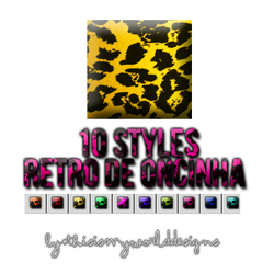 Styles Retro Oncinha by ThisIsMyWorldDesigns
