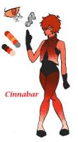 Cinnabar redesign by Swallow-of-Fire8091