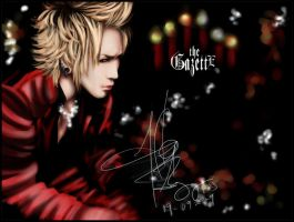Gazette - Ruki by phantomofdevil