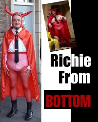 Richie from 'Bottom' by 3D-Fantasy-Art