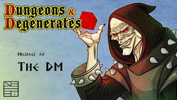 Dungeons and Degenerates The DM by IADM