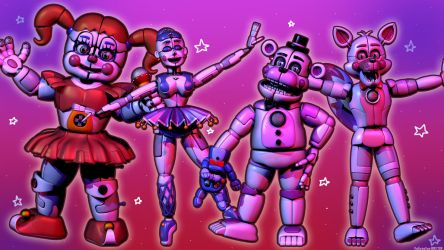 'The band' [Cinema4D FNAF] by TheSpringYanaWOO