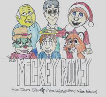 Mickey Rooney Tribute by CelmationPrince