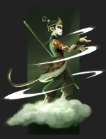 Monkey Mage by JustaBlink