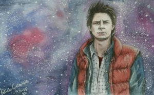 Marty McFly by BloodyZombie23