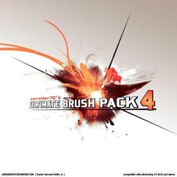 ULTIMATE BRUSH PACK NO.4 by Axeraider70