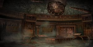 Dumac palace (Dagoth Ur) - tactic room by lukkar