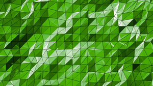 Green Abstract Wallpaper by BenWurth