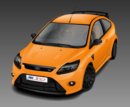 Ford Focus RS500 by johnnyinternets