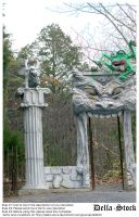 Monster Gate by Della-Stock