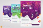Town Hall Meeting Flyer by satgur