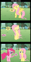 Fluttershy www.Date me.com by BraveMoonGirl